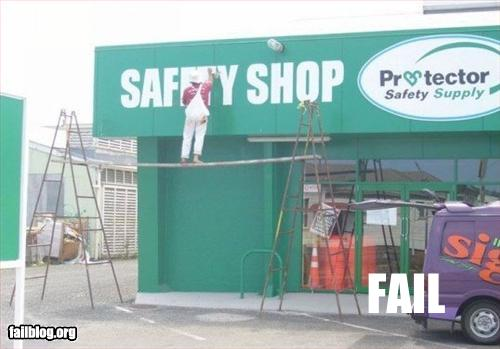 safety fail funny