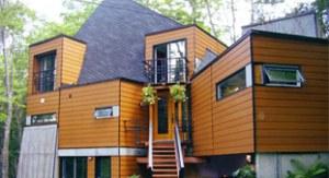 Idekit refabricated home. Image Credit: Maison Idekit Home.
