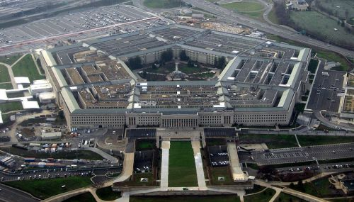 The Pentagon. Image Credit: David B. Gleason from Chicago, IL via Wikipedia.